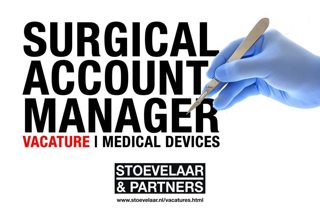 Surgical Account Manager vacature, medical devices en medtech